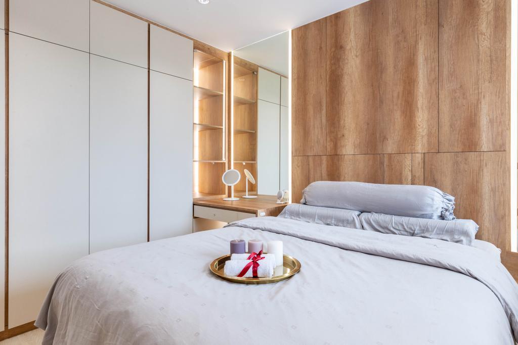 Modern, HDB, Bedroom, Woodlands Drive 40, Interior Designer, Mr Designer Studio, Scandinavian