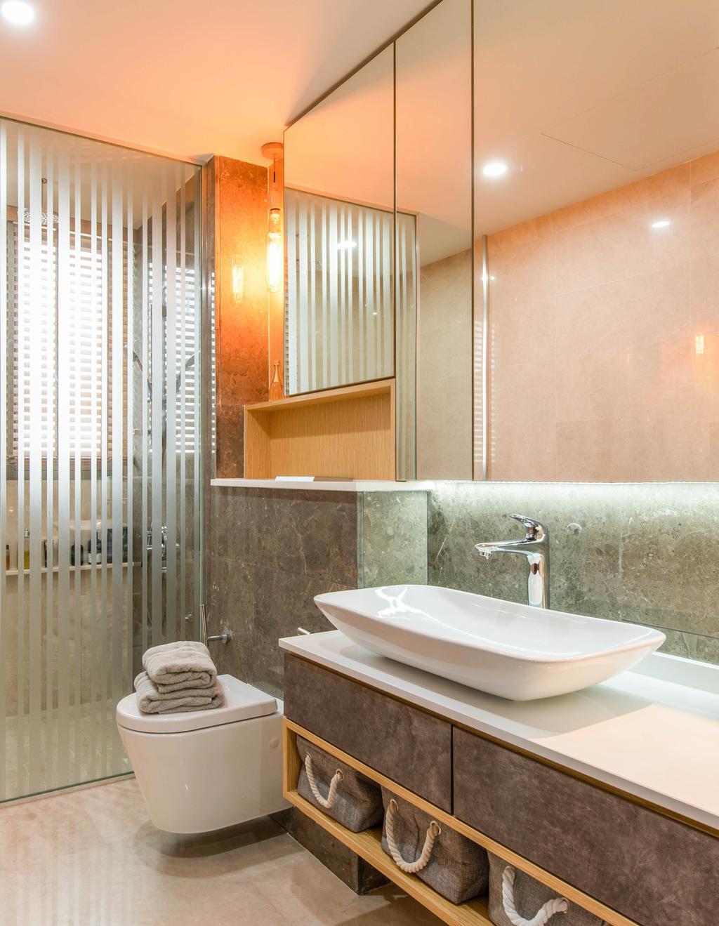 Contemporary, Landed, Bathroom, Springside View, Interior Designer, Dyel Design