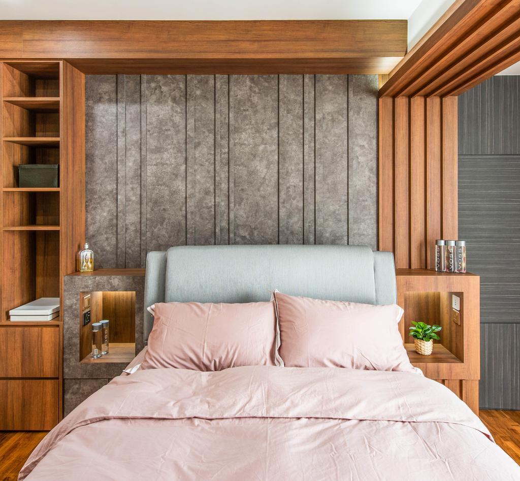 Contemporary, Landed, Bedroom, Springside View, Interior Designer, Dyel Design