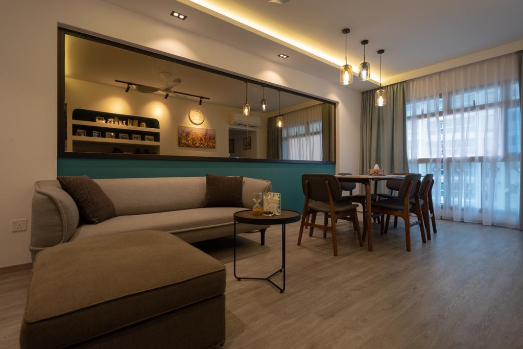 Modern, HDB, Living Room, Strathmore Avenue, Interior Designer, Diva's Interior Design