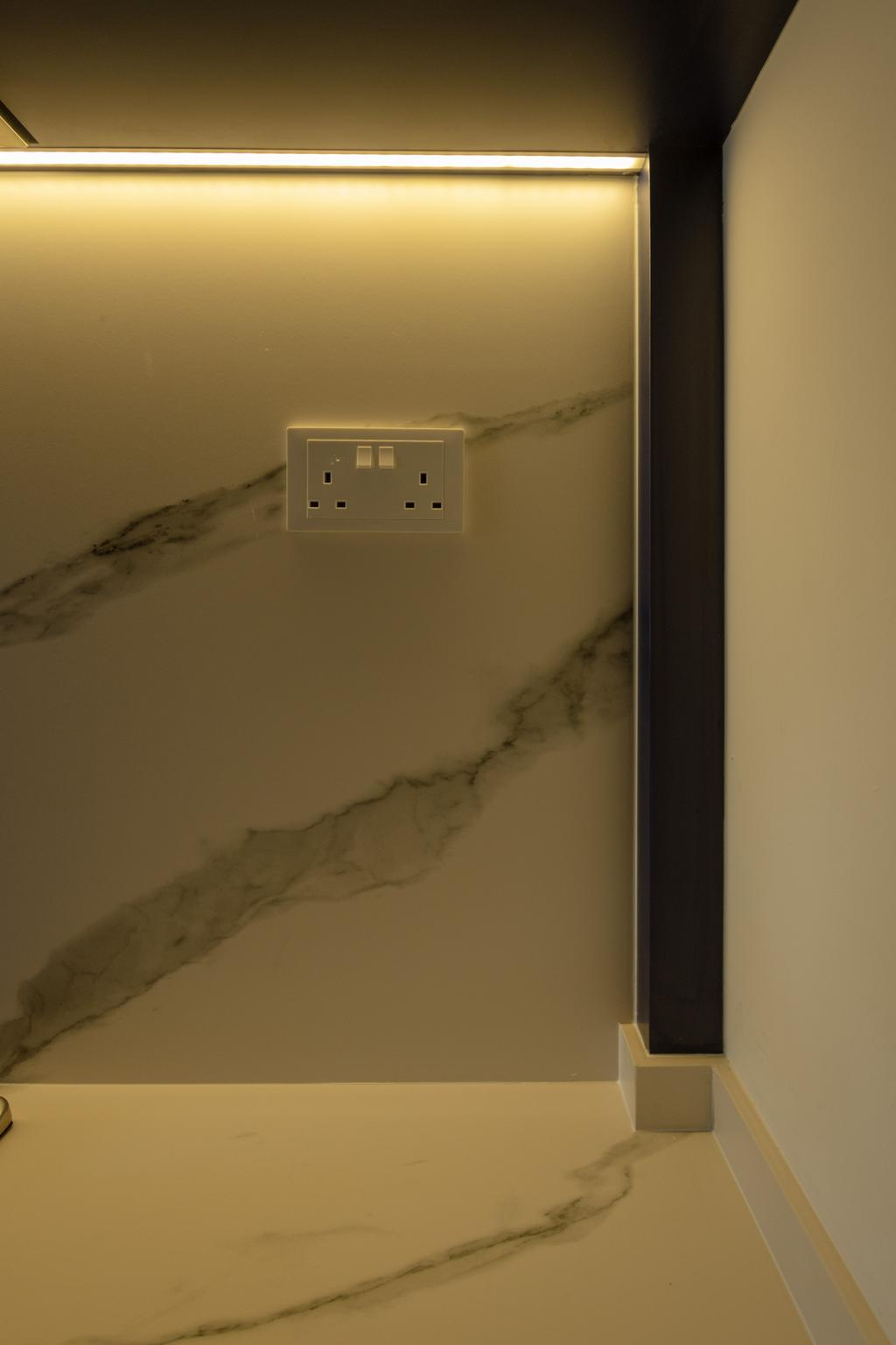 Modern, HDB, Kitchen, Strathmore Avenue, Interior Designer, Diva's Interior Design