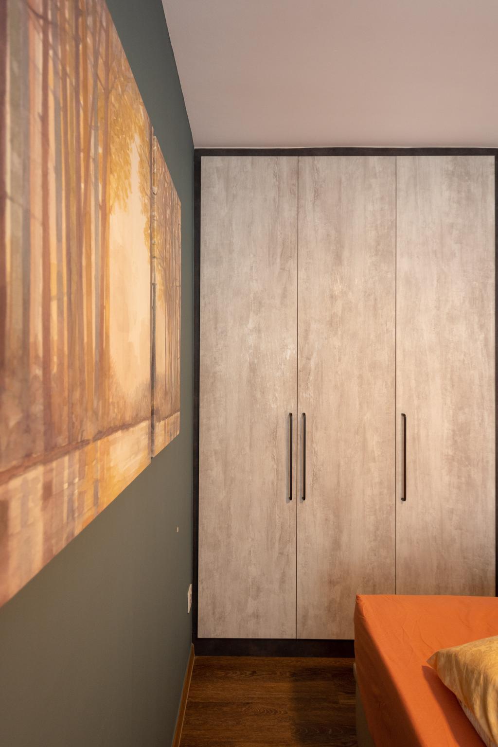 Modern, HDB, Bedroom, Strathmore Avenue, Interior Designer, Diva's Interior Design