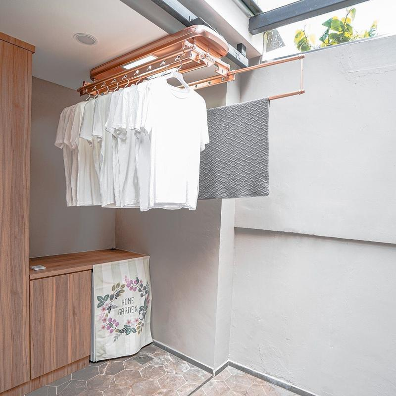 Solar Automated Laundry System in Rose Gold from Steigen