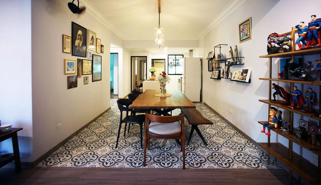 Modern, Condo, Dining Room, Hillside Mansion, Interior Designer, Karpentree Studio, Eclectic