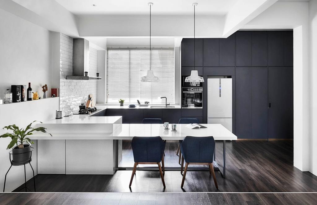 Contemporary, HDB, Kitchen, East Coast Park, Interior Designer, Third Avenue Studio, Scandinavian