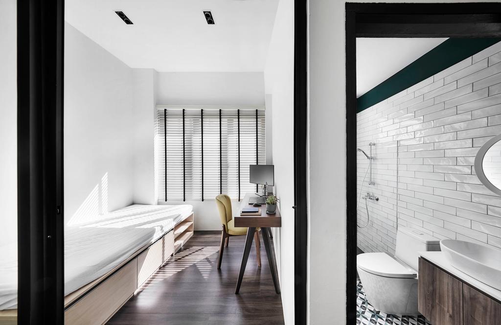 Contemporary, HDB, Bedroom, East Coast Park, Interior Designer, Third Avenue Studio, Scandinavian