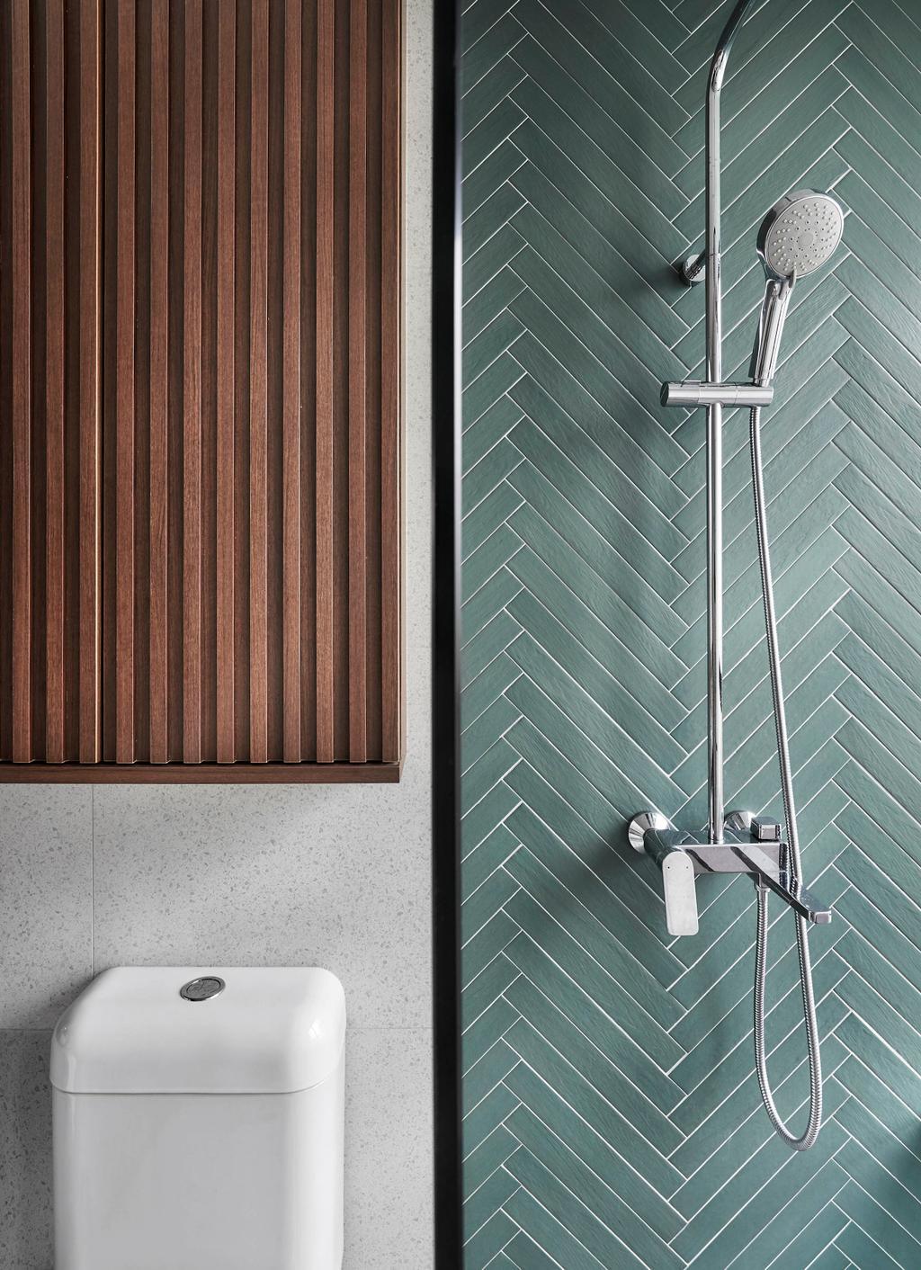 Contemporary, Condo, Bathroom, Tangerine Grove, Interior Designer, Third Avenue Studio