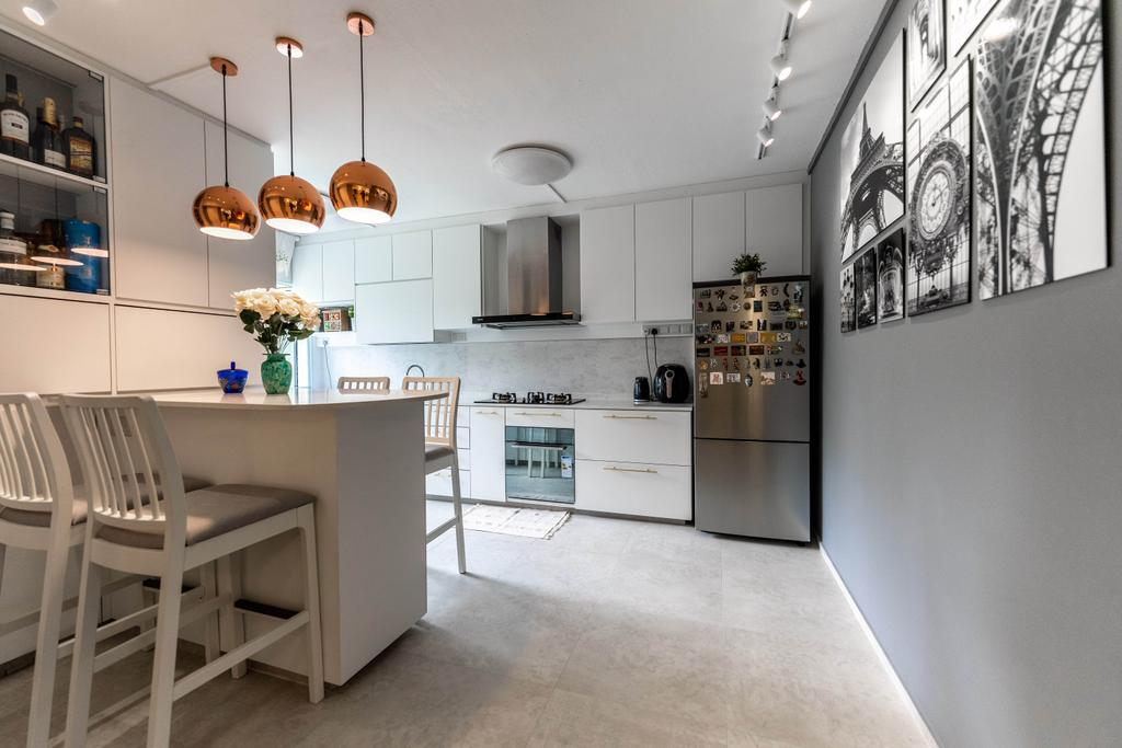 Modern, HDB, Kitchen, Bukit Batok West Avenue 7, Interior Designer, Todz'Terior