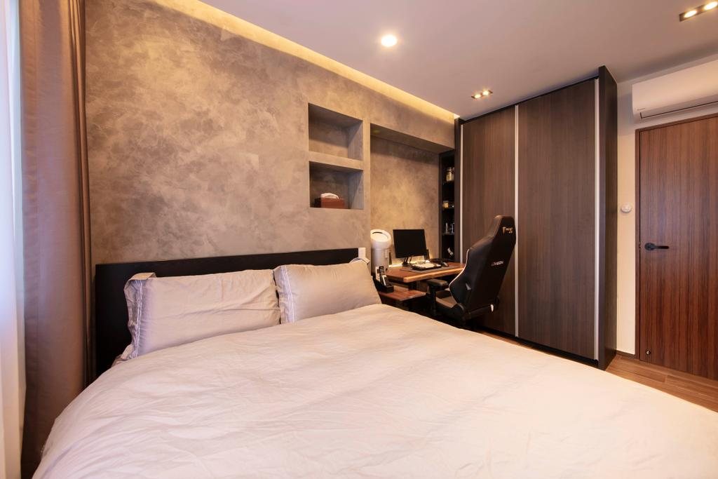 Contemporary, HDB, Bedroom, Ang Mo Kio Central, Interior Designer, Groove Interior Design