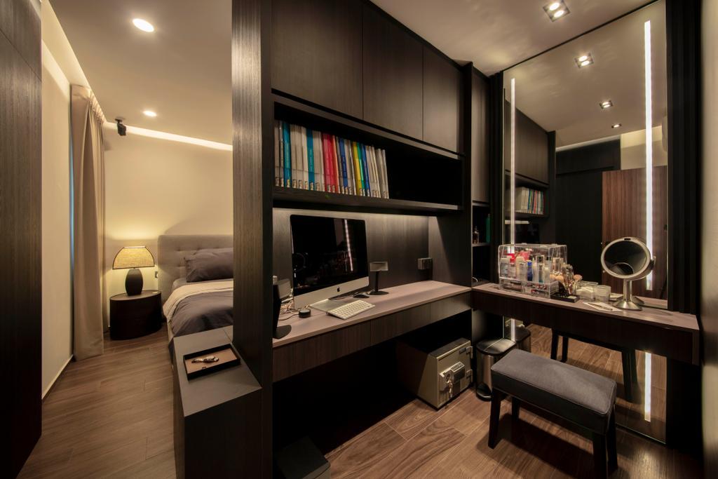 Contemporary, HDB, Study, Ang Mo Kio Central, Interior Designer, Groove Interior Design