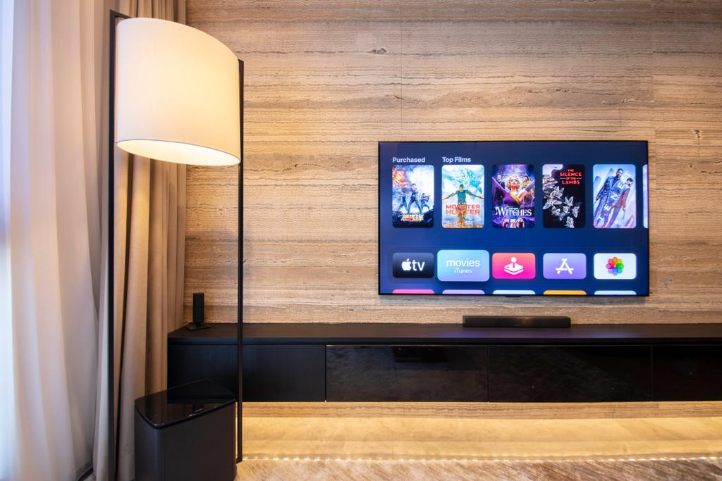 Contemporary, HDB, Living Room, Ang Mo Kio Central, Interior Designer, Groove Interior Design