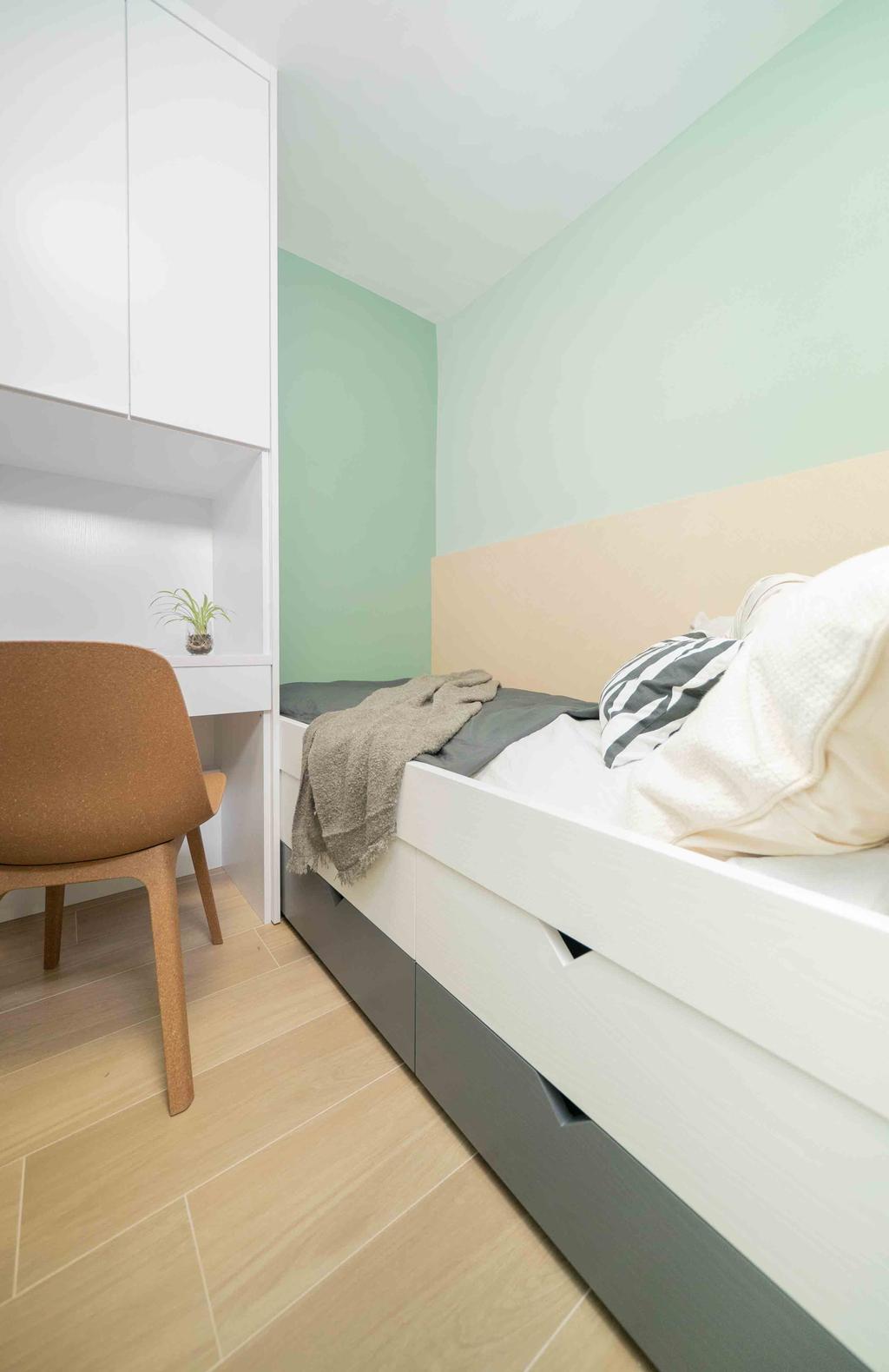 摩登, 公屋/居屋, 睡房, Patricia, 室內設計師, B.R.G. Interior Design, 北歐