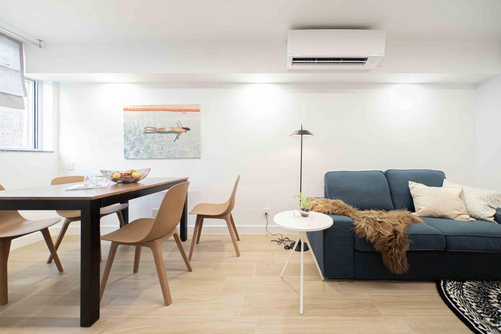 摩登, 公屋/居屋, 客廳, Patricia, 室內設計師, B.R.G. Interior Design, 北歐