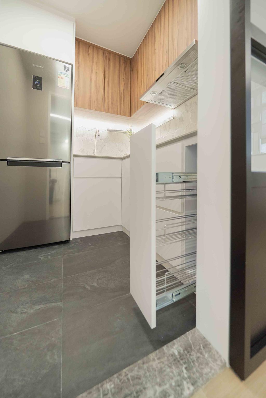 摩登, 公屋/居屋, 廚房, Patricia, 室內設計師, B.R.G. Interior Design, 北歐