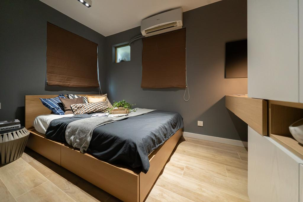 當代, 私家樓, 睡房, The Wonderland, 室內設計師, B.R.G. Interior Design, 北歐