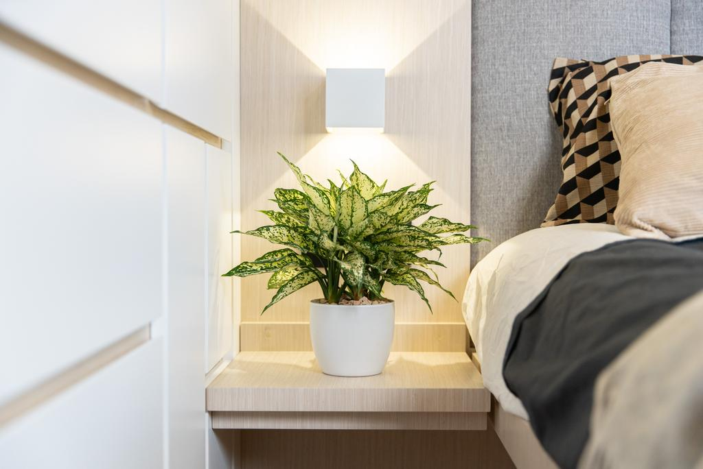 北歐, 私家樓, 睡房, Golden Lodge, 室內設計師, B.R.G. Interior Design