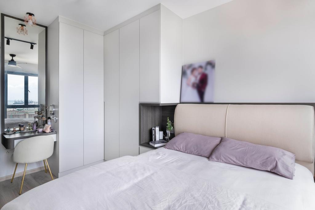 Modern, HDB, Bedroom, Clementi Avenue 3, Interior Designer, Starry Homestead