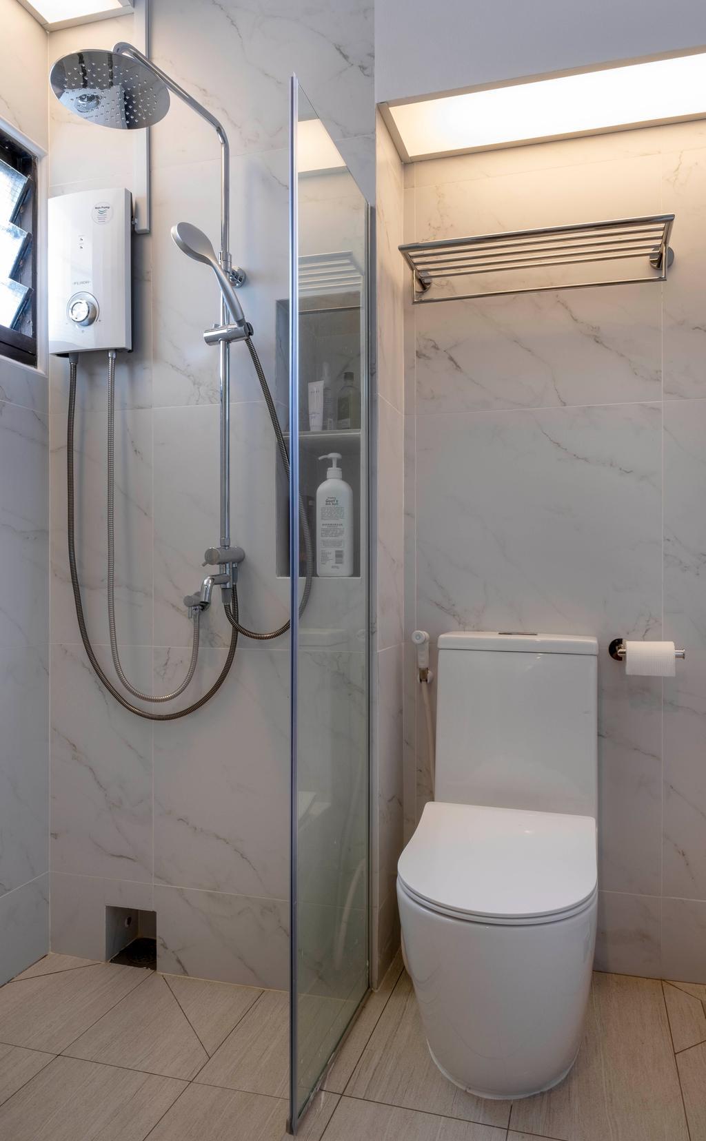 Scandinavian, HDB, Bathroom, Redhill Road, Interior Designer, Starry Homestead