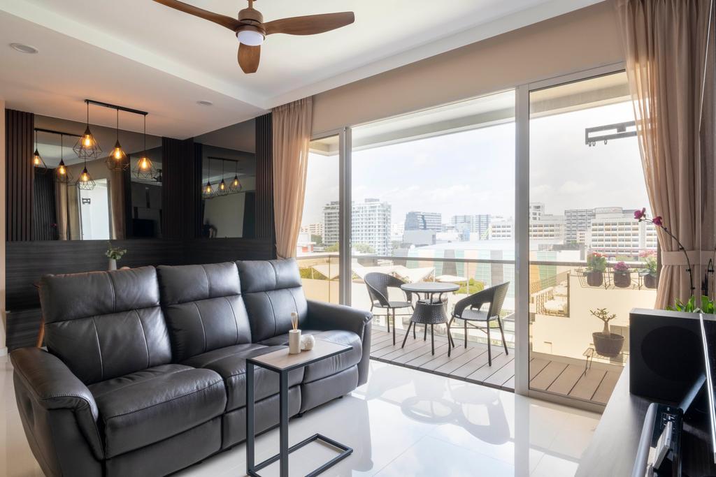 Modern, Condo, Living Room, Le Crescendo, Interior Designer, Starry Homestead