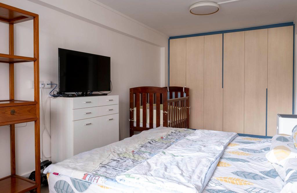 Modern, HDB, Bedroom, Jurong East Street 13, Interior Designer, Starry Homestead, Scandinavian