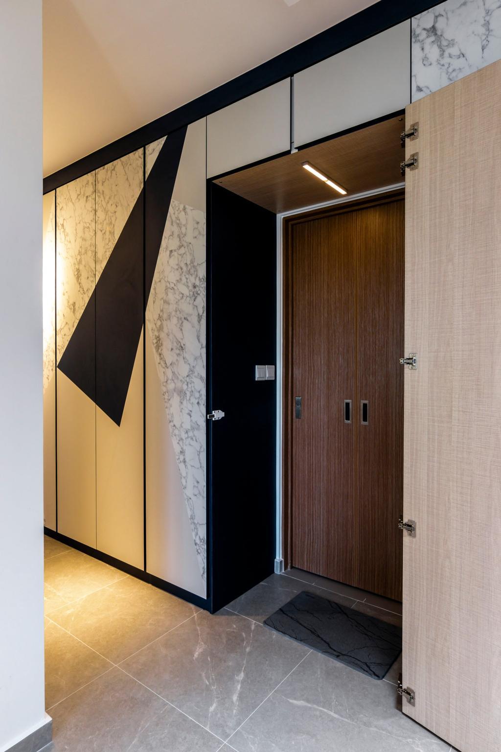 Contemporary, HDB, Bidadari Park Drive, Interior Designer, 9 Creation