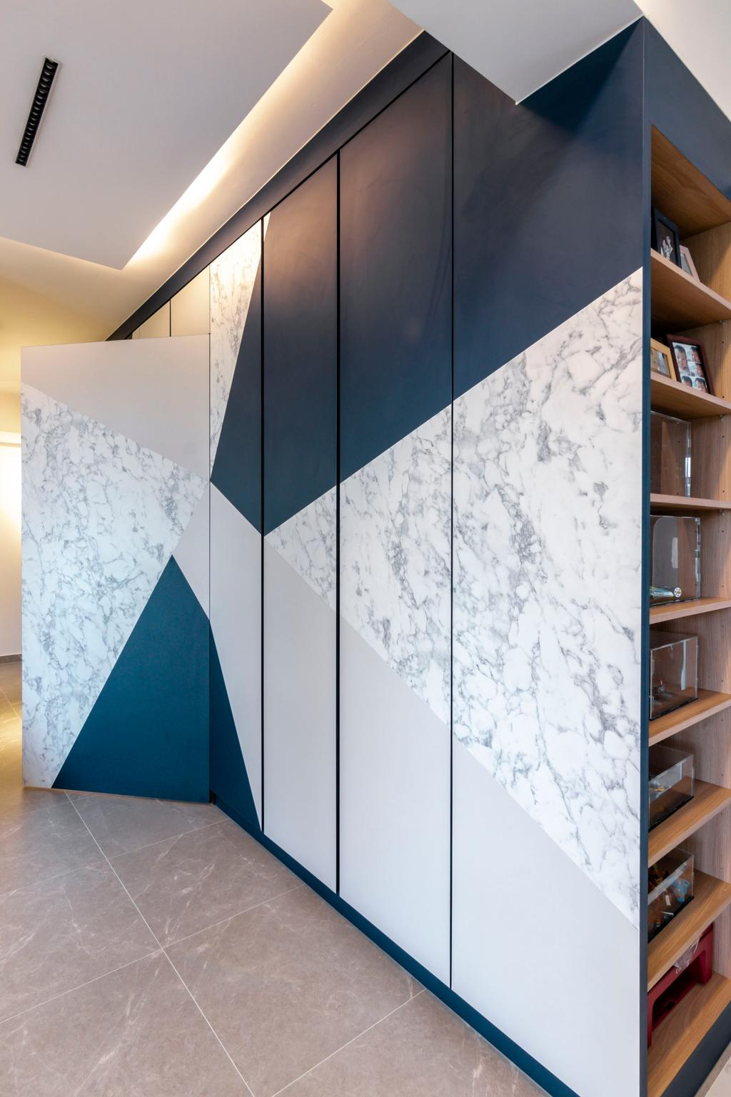 Contemporary, HDB, Living Room, Bidadari Park Drive, Interior Designer, 9 Creation