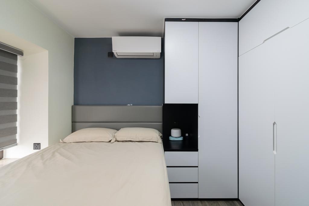 摩登, 公屋/居屋, 睡房, 杏花邨, 室內設計師, 現時設計