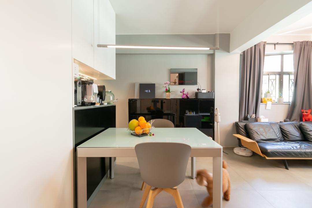美善同大廈, 現時設計, 摩登, 飯廳, 私家樓