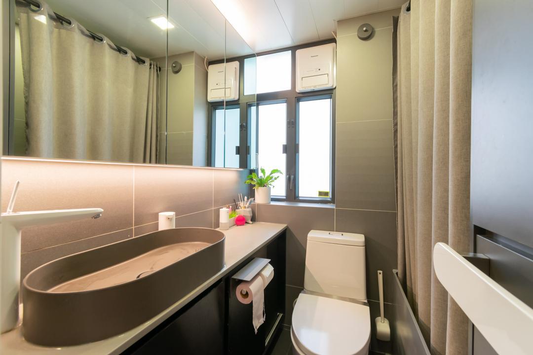 美善同大廈, 現時設計, 摩登, 浴室, 私家樓