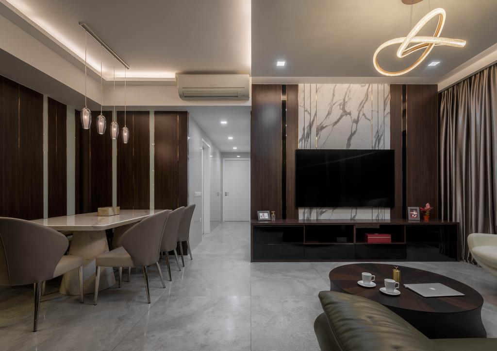 Modern, Condo, Living Room, The Interlace, Interior Designer, Weiken.com, Contemporary