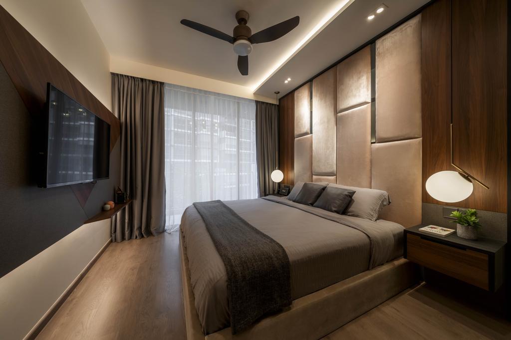 Contemporary, HDB, Bedroom, The Visionaire, Interior Designer, Weiken.com