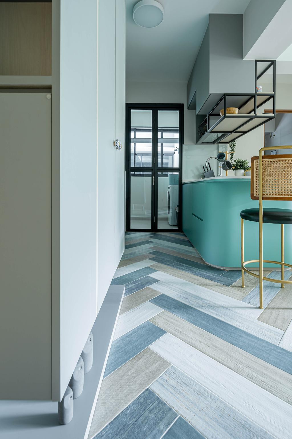 Contemporary, HDB, Living Room, Bidadari Park Drive, Interior Designer, Idfferent Design