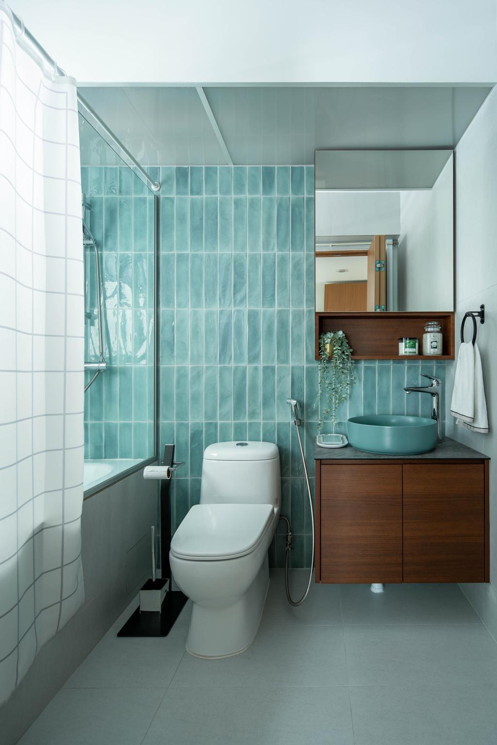 Contemporary, HDB, Bidadari Park Drive, Interior Designer, Idfferent Design