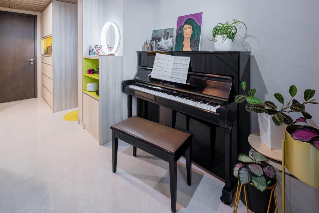 Modern, Condo, Living Room, Jade Residences, Interior Designer, Idfferent Design
