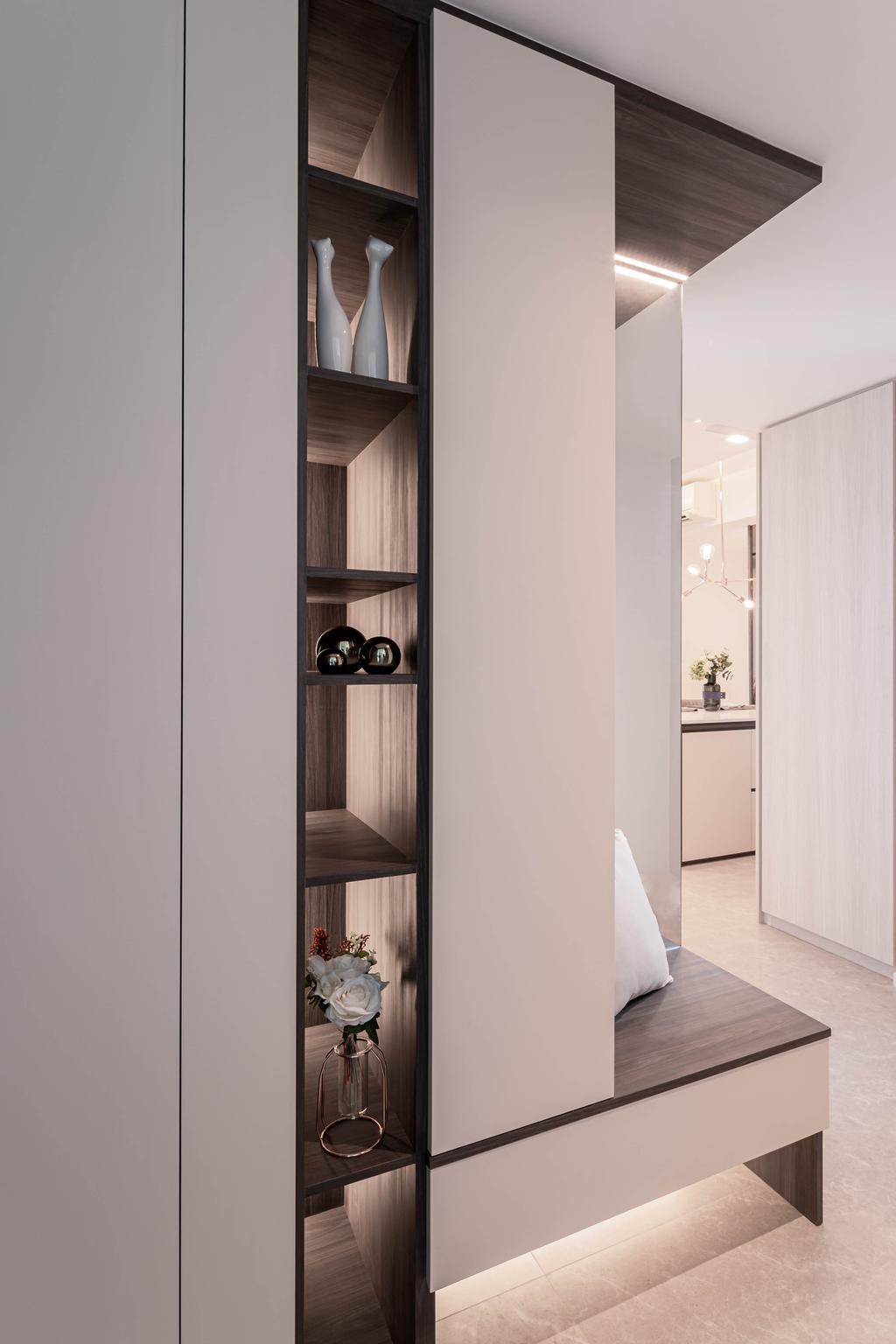 Contemporary, Condo, The Clement Canopy, Interior Designer, Idfferent Design, Scandinavian