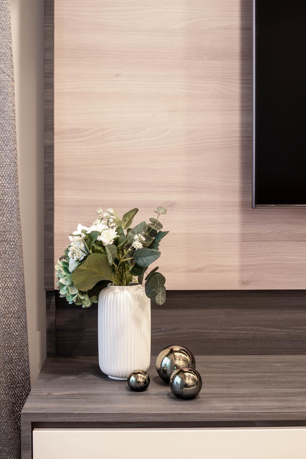 Contemporary, Condo, Living Room, The Clement Canopy, Interior Designer, Idfferent Design, Scandinavian
