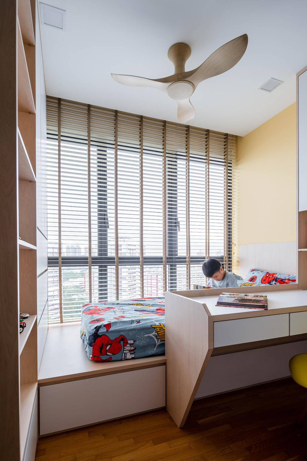 Contemporary, Condo, Bedroom, The Clement Canopy, Interior Designer, Idfferent Design, Scandinavian