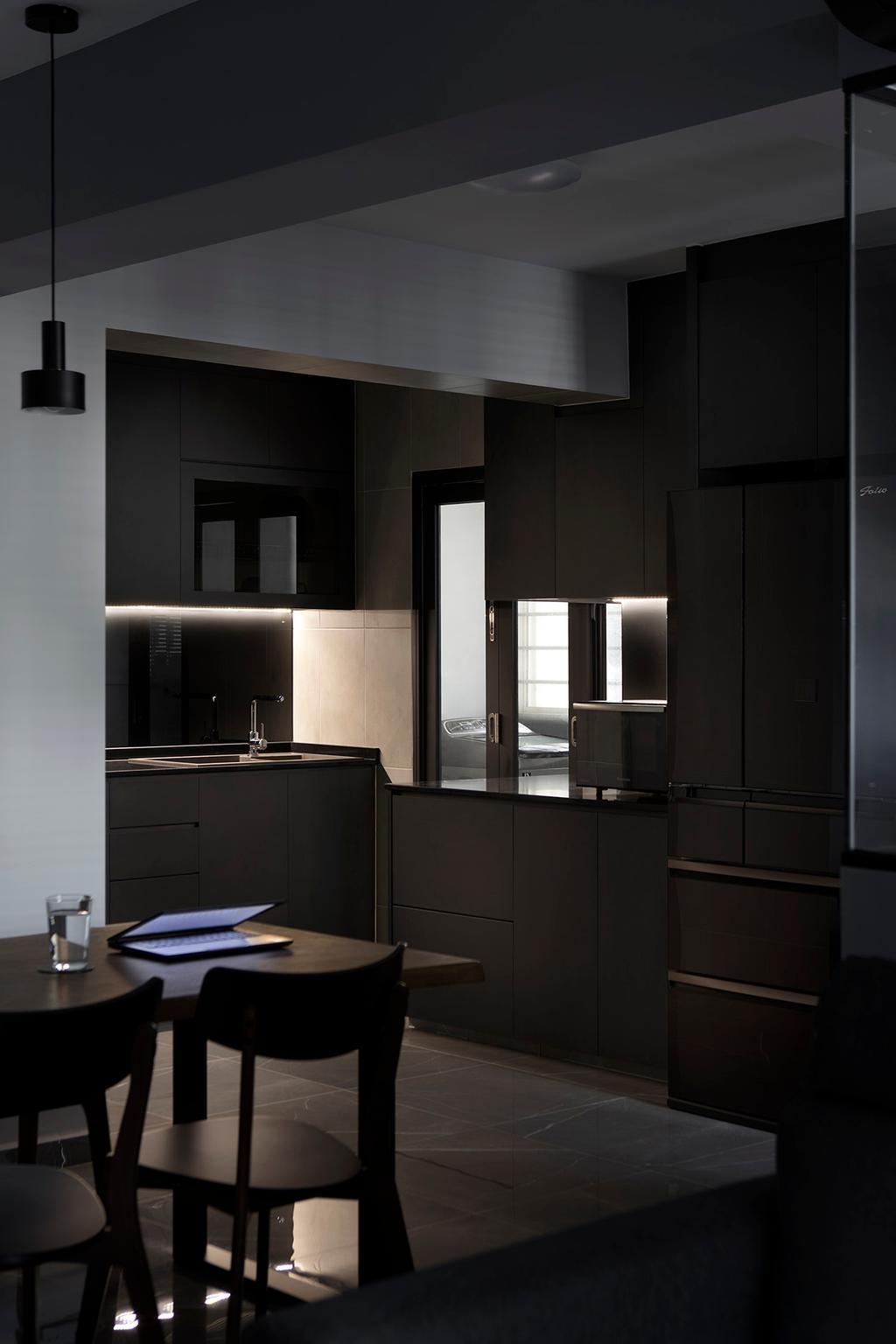 Contemporary, HDB, Dining Room, Canberra Crescent, Interior Designer, ELPIS Interior Design