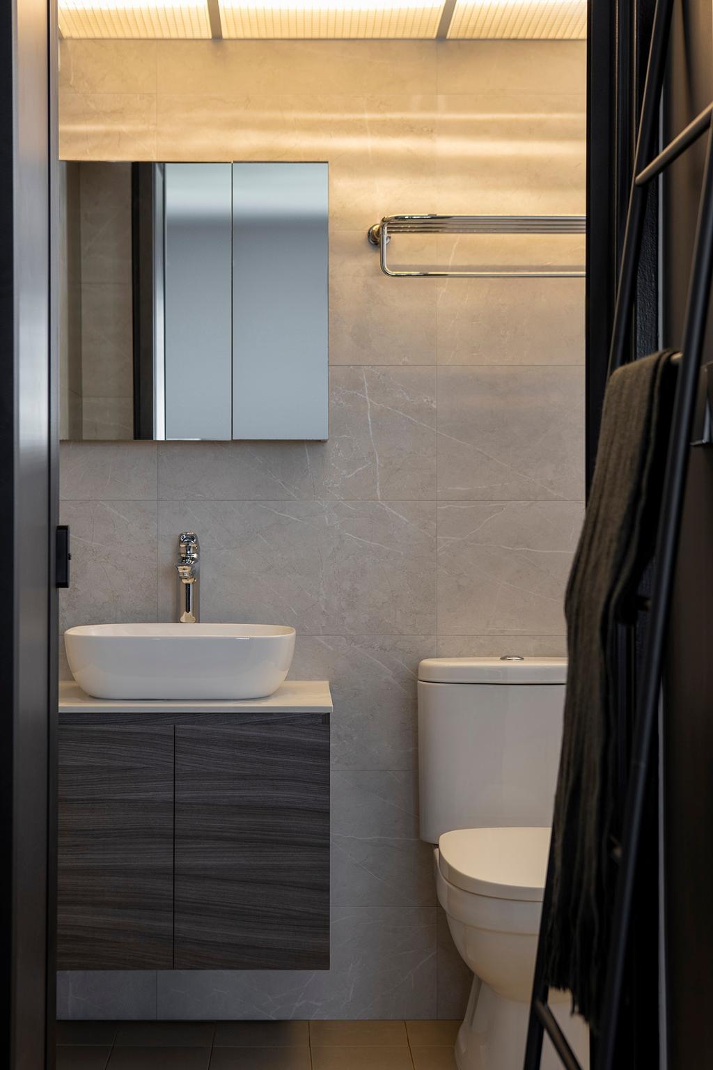 Contemporary, HDB, Bathroom, Canberra Crescent, Interior Designer, ELPIS Interior Design