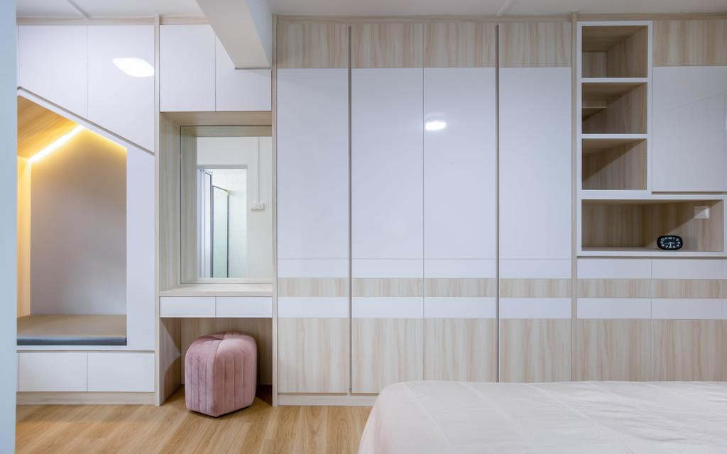 Modern, HDB, Bedroom, Bishan Street 22, Interior Designer, VNA Design, Contemporary