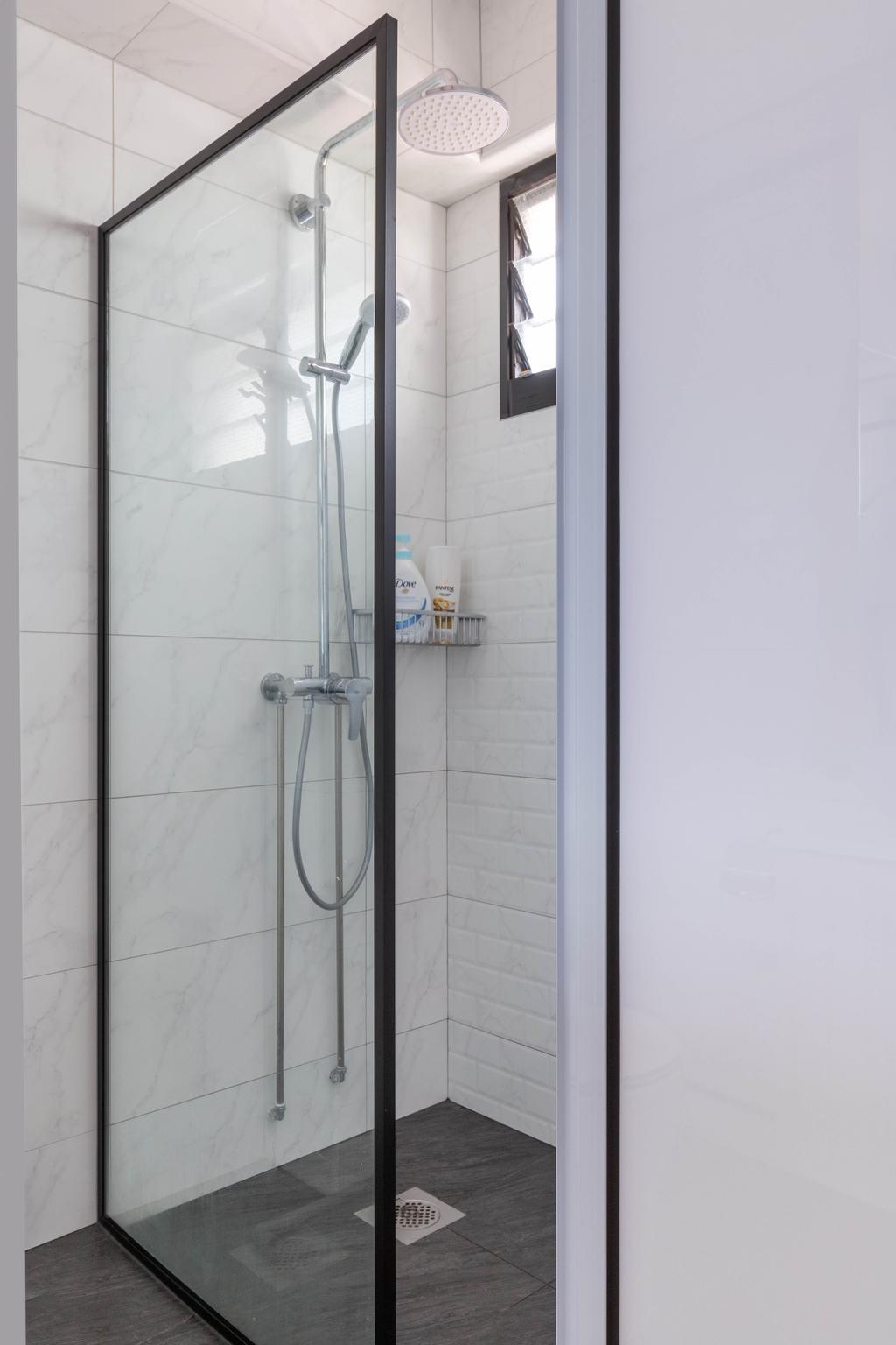 Modern, HDB, Bathroom, Bishan Street 22, Interior Designer, VNA Design, Contemporary