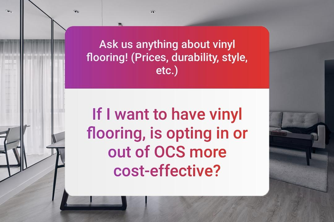 buying vinyl flooring in Singapore