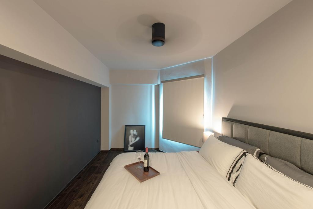 Modern, HDB, Bedroom, Canberra Road, Interior Designer, Dyel Design, Contemporary