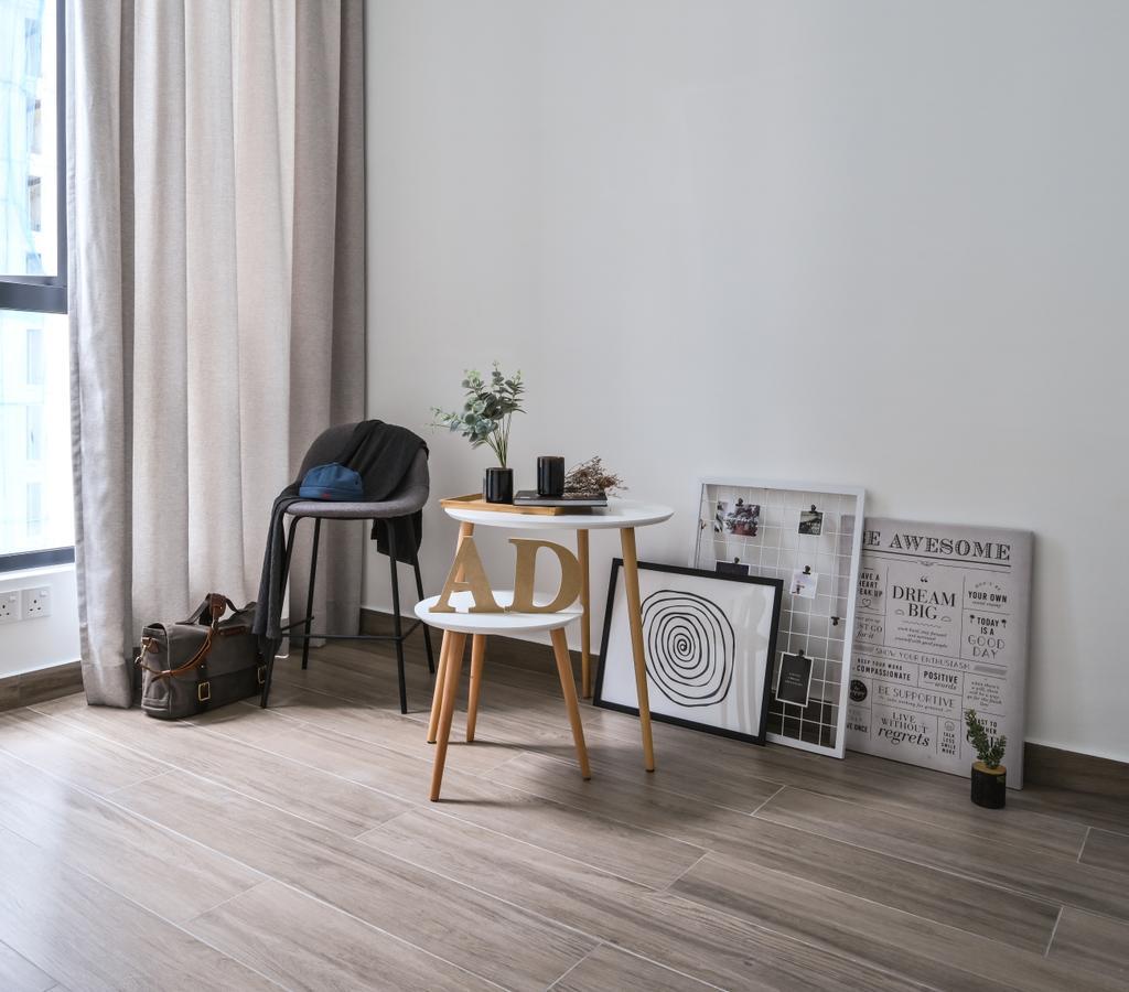 Minimalistic, Condo, Fera Residence @ The Quartz, Interior Designer, Amaze Design Sdn Bhd