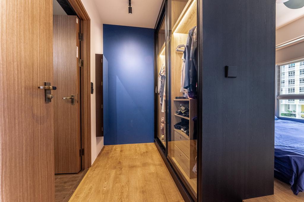 Contemporary, HDB, Bedroom, Northshore Drive, Interior Designer, Luova Project Services