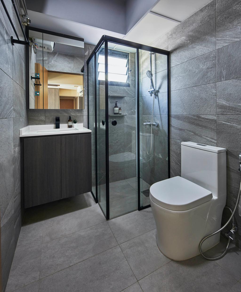 Contemporary, HDB, Bathroom, Alkaff Courtview, Interior Designer, The Interior Lab