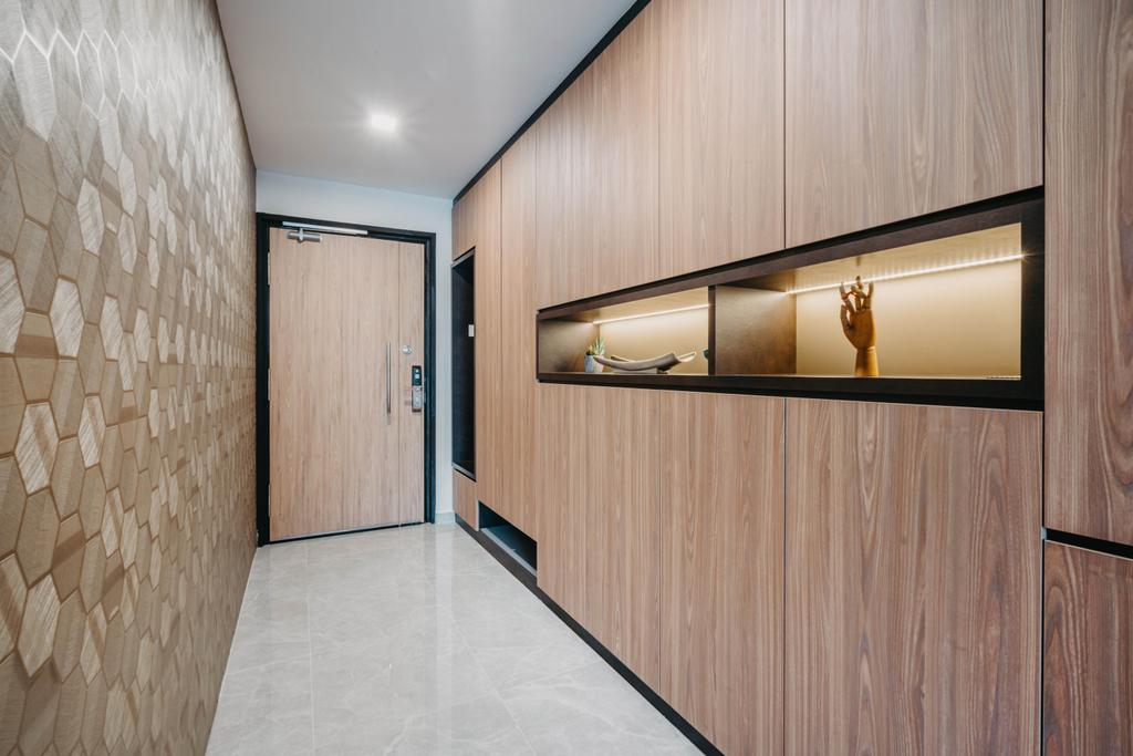 Modern, HDB, Living Room, Admiralty Drive, Interior Designer, New Age Interior, Contemporary