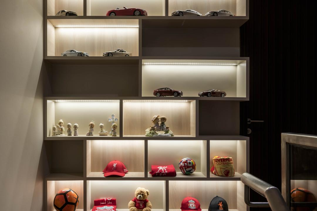 Chuan Garden, Weiken.com, Contemporary, Living Room, Landed, Display, Collectibles, Figurines