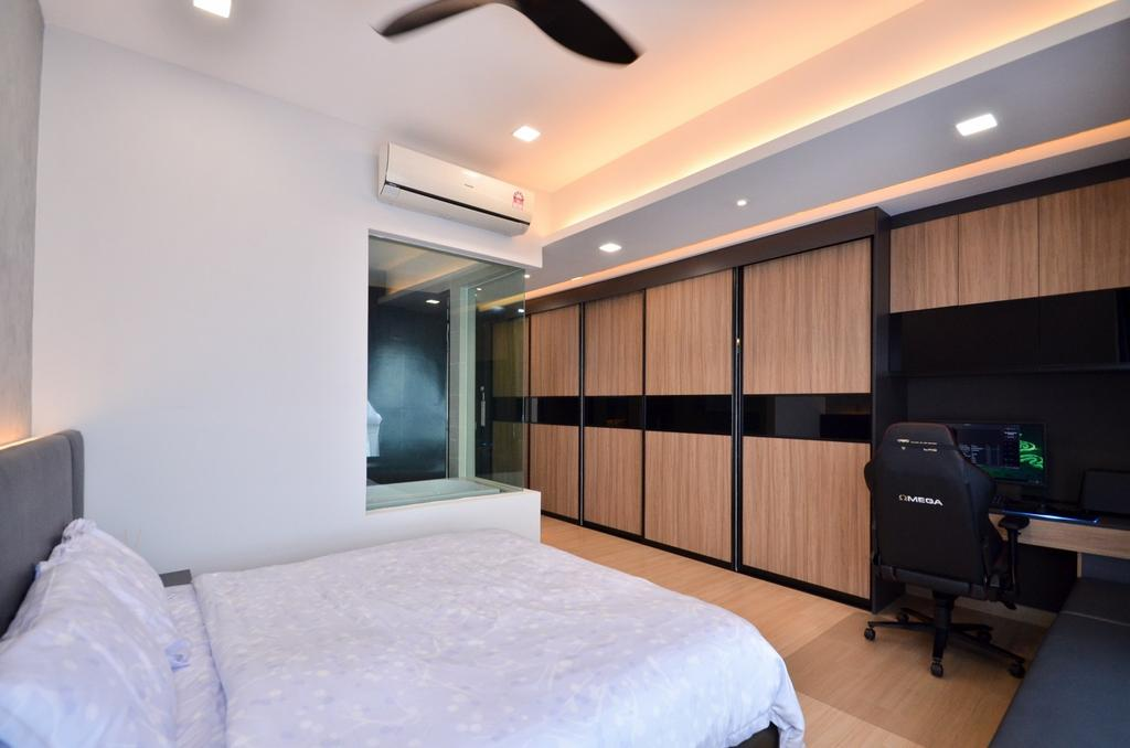 Modern, Condo, Seringin Residences, OUG, Interior Designer, Mega Fusion Design Studio