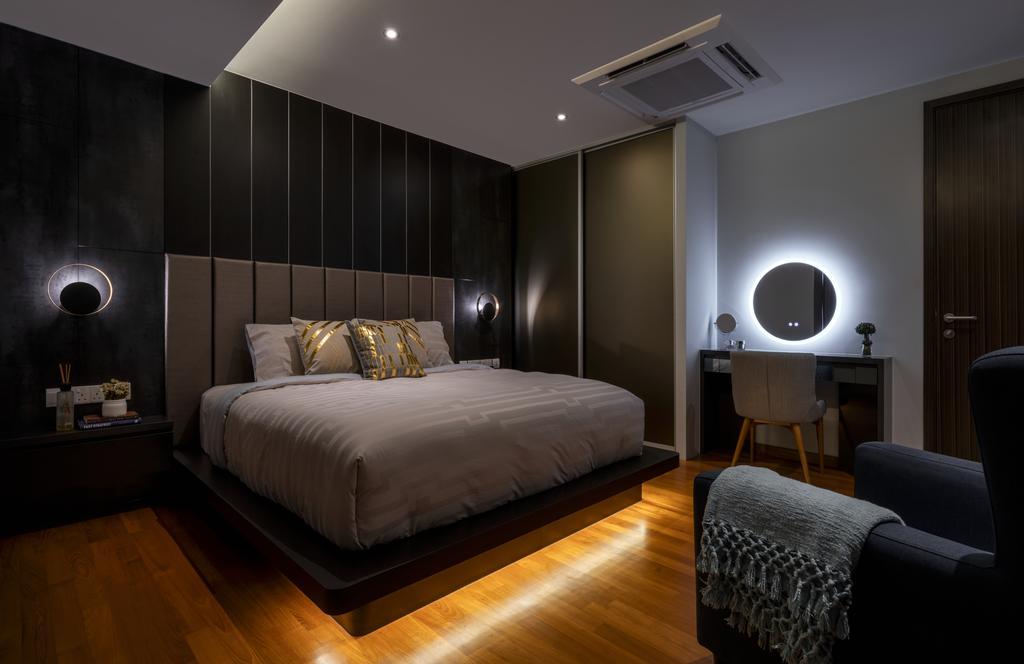 Contemporary, Landed, Bedroom, Chuan Garden, Interior Designer, Weiken.com